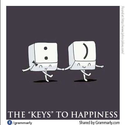 keys to happiness grammarly
